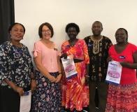 2018.02.23 - GSE Team - Sunrise giving banner flag to Uganda
