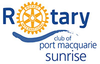 Rotary Club of Port Macquarie Sunrise, Port Macquarie NSW