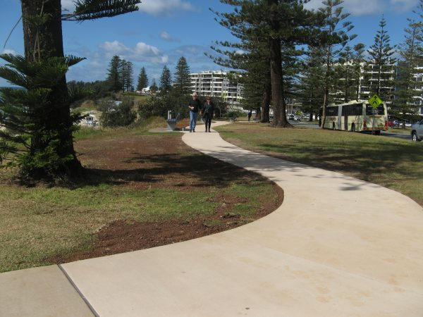 Stewart Street Pathway completed